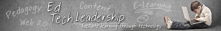 Educational Technology Leadership